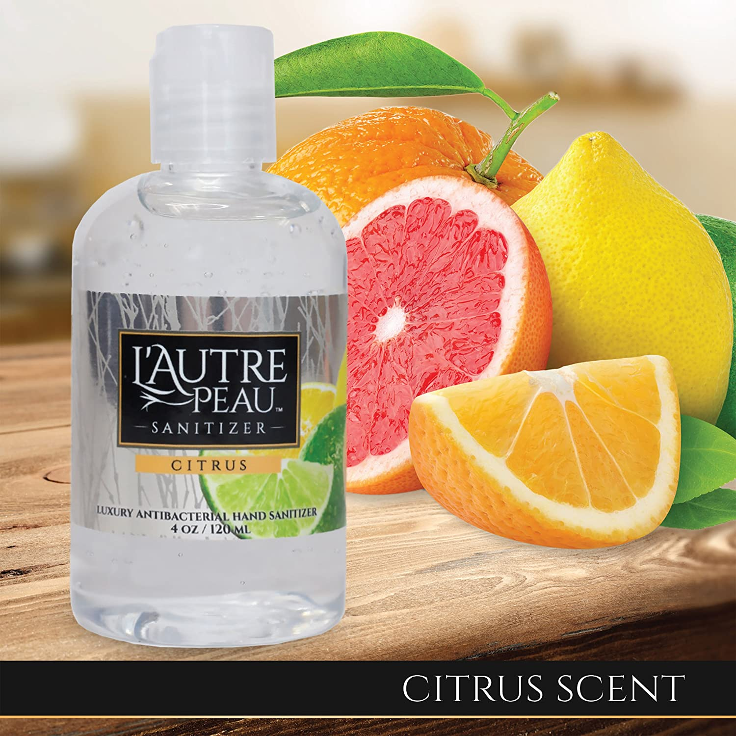 citrus fruits as hand sanitizer