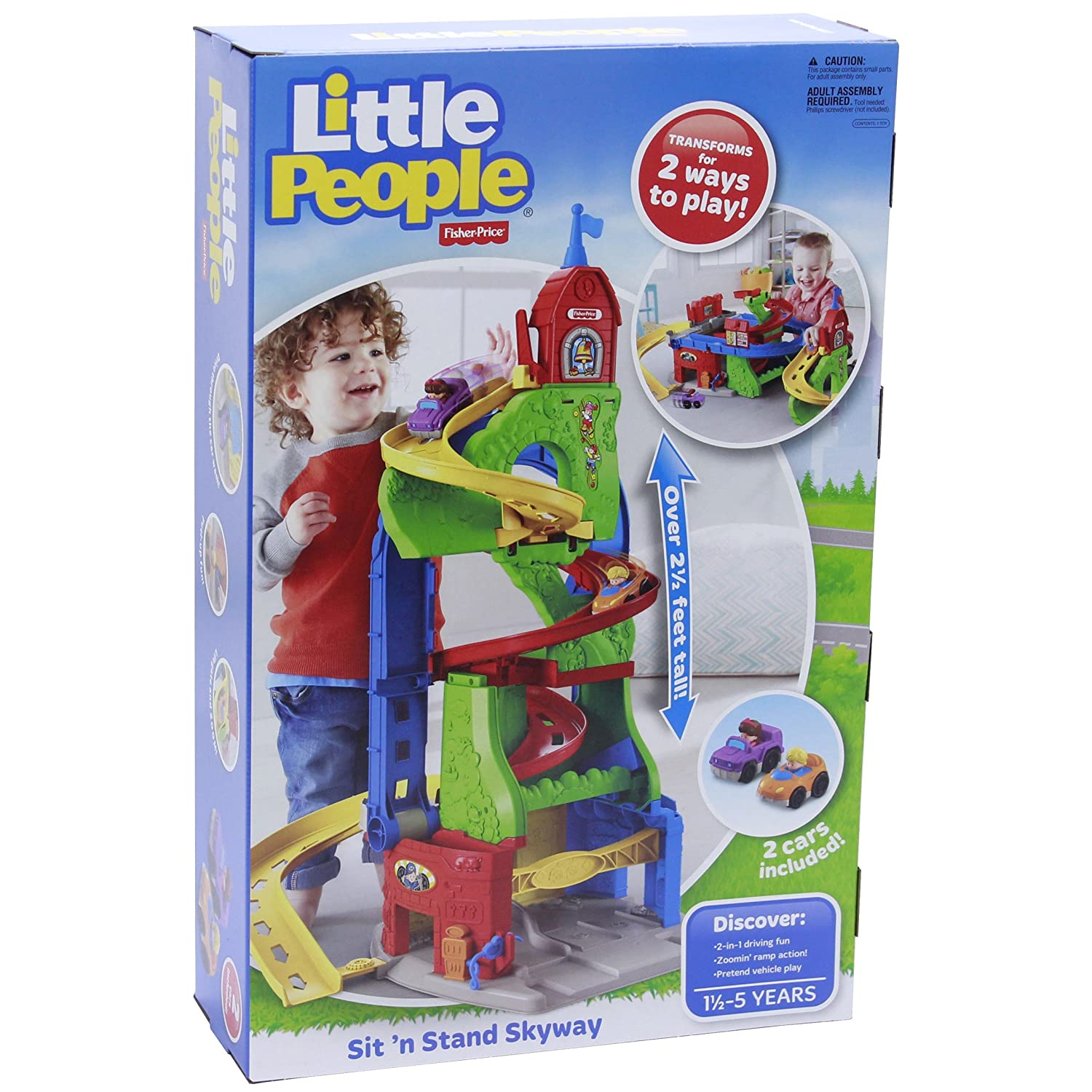 Fisher-Price Little People Sit n Stand Skyway Fisher Price DFT71