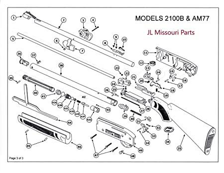 Marlin Model 60 Rifle Parts Diagram