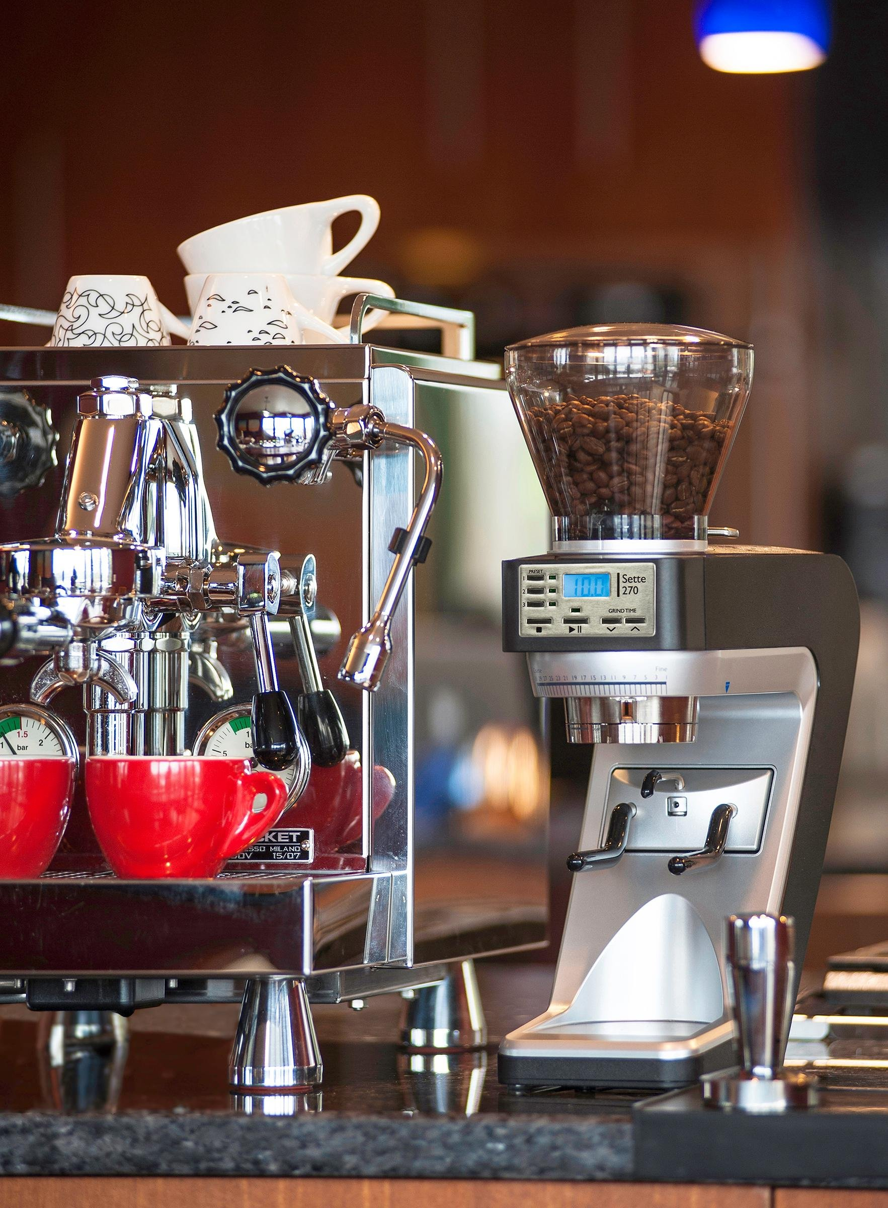 Baratza Sette 270 - Conical Burr (with Grounds Bin and built-in PortaHolder) by Baratza (Image #6)