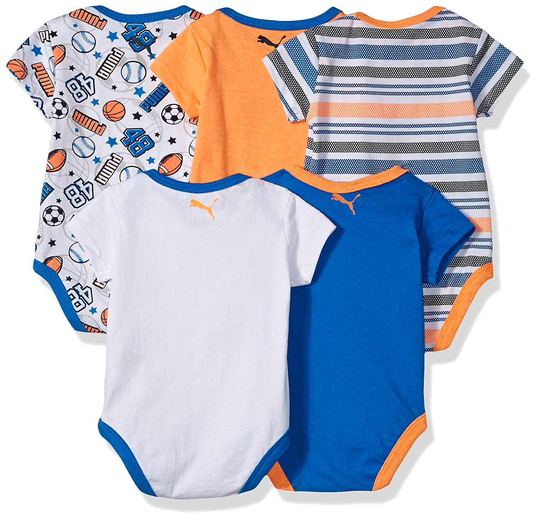 63eb2489b1579 Puma - Body - Bébé (garçon) 0 à 24 Mois Multicolore Mehrfarbig - Multicolore  - L  Amazon.fr  Vêtements et accessoires
