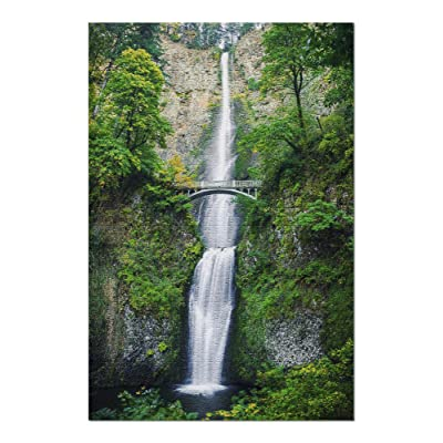 Multnomah Falls, Columbia River Gorge - Beautiful Cascading Waterfall with Scenic Stone Bridge 9024100 (Premium 1000 Piece Jigsaw Puzzle for Adults, 20x30, Made in USA!): Toys & Games