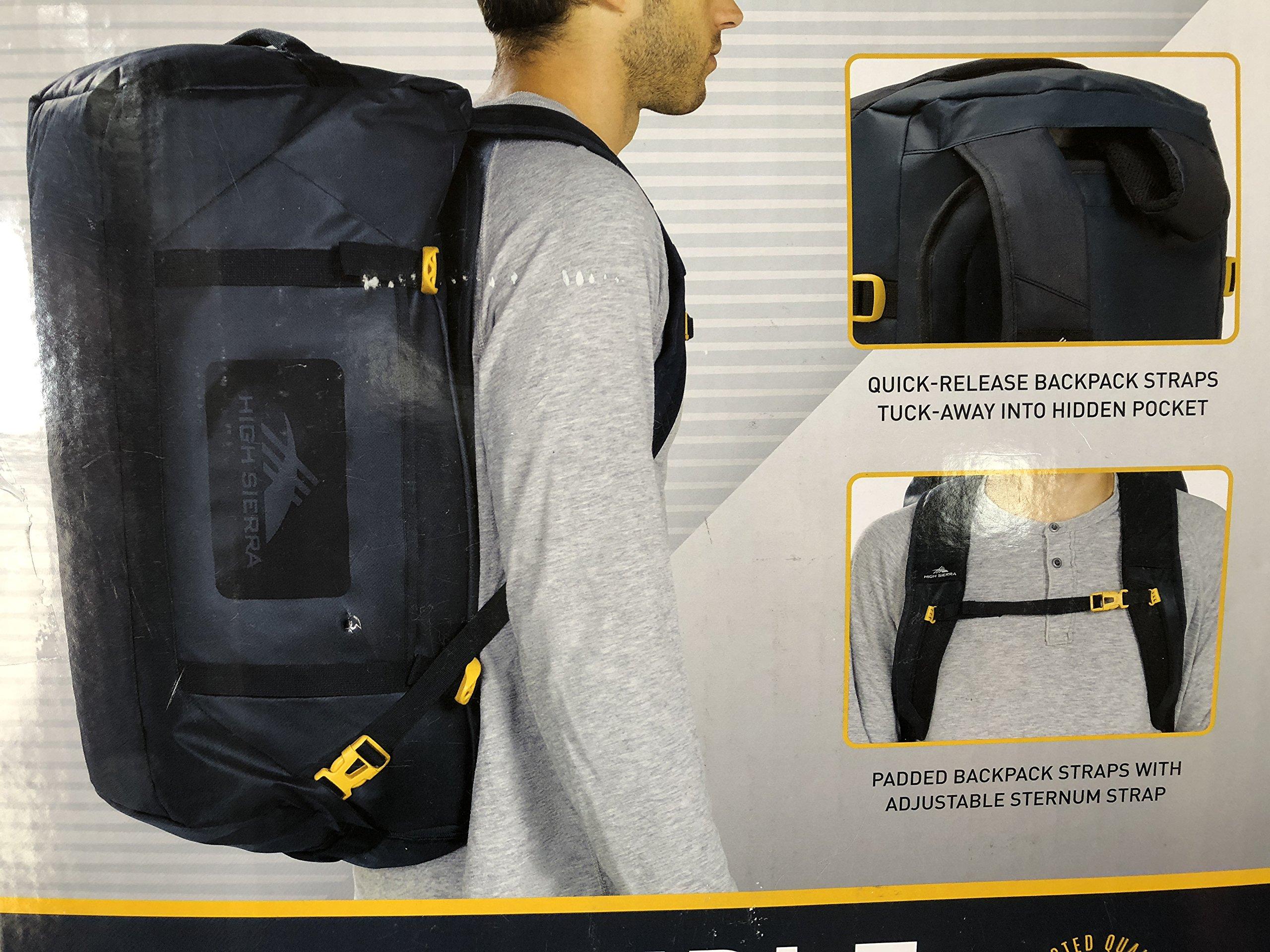 High Sierra 22'' Convertible Duffle Backpack, Rustic Blue