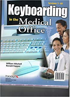 Kinns the medical assistant study guide and procedure checklist keyboarding in the medical office sessions 1 60 fandeluxe Gallery