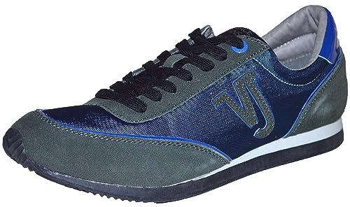 Versace - Zapatillas para hombre Azul azul marino: Amazon.es: Zapatos y complementos