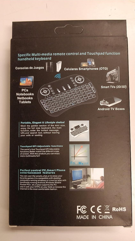 I8 Wireless Backlit Keyboard Fly Keypad With Led Backlight Lithium  # Designe De Support De Television