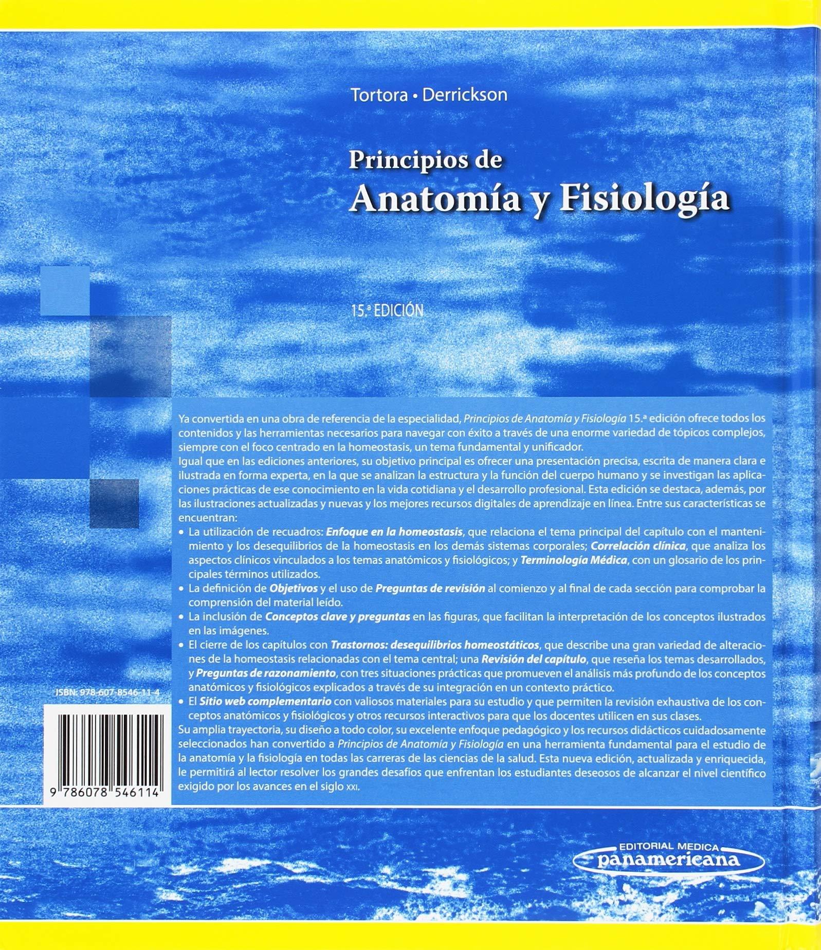 Principios de Anatomia y Fisiologia: Amazon.es: Gerard J. Tortora ...