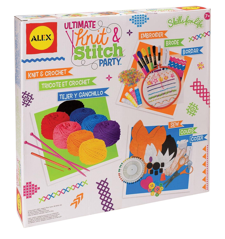 ALEX DIY Ultimate Knit and Stitch Party Kit 189U