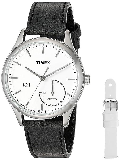 Timex Womens TWG013700 IQ+ Move Activity Tracker Black ...