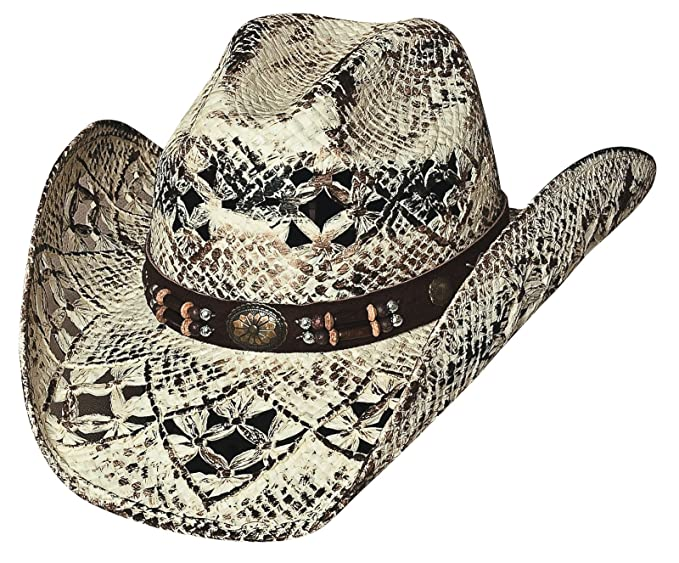 Bullhide Montecarlo Girl Next Door Painted Toyo Straw Western Hat Small 24c1b20e8a70