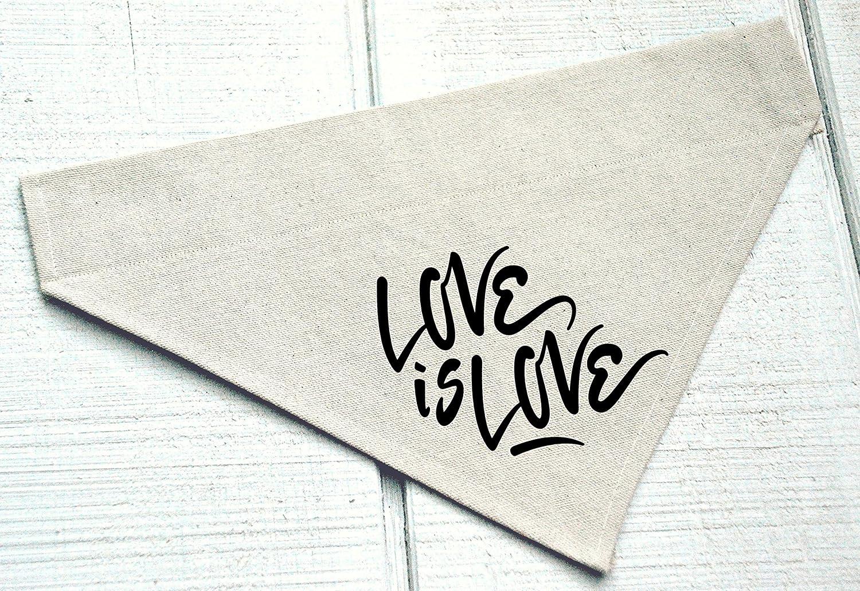 Love is Love Dog Bandana