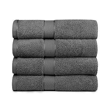 Amazon.com: Bigsal 4-Piece Luxury Bath Towels Set - Super Soft ...