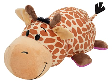 Flip a Zoo Flip A Zoo Giraffe/Hippo 2 In 1 Soft Toy