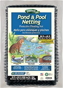 Dalen Pond & Pool Netting – Outdoor Water Garden Cover – Protective Mesh for Fish & Aquatic Life (28' x 45')