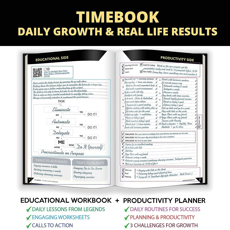 Amazon.com: NUEVO TIMEBOOK - Planificador de la vida + ...