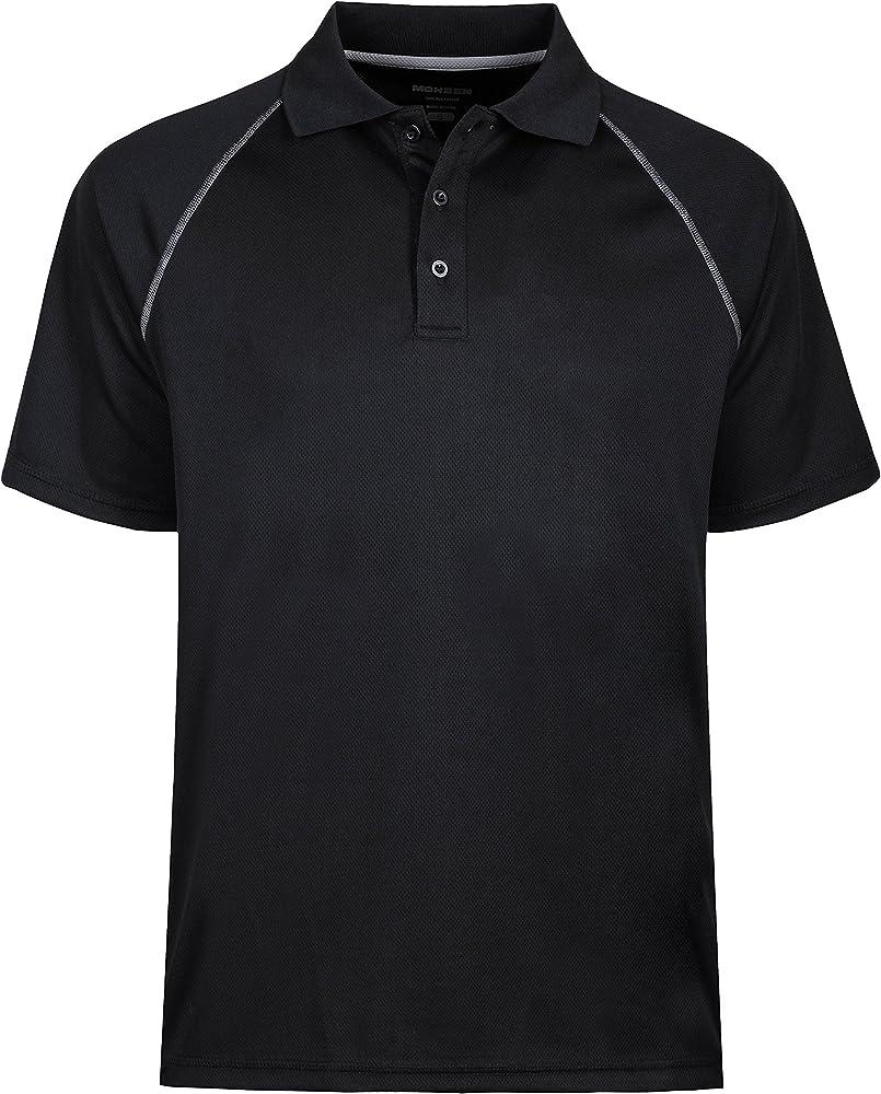 moheen – Polo para Hombre/Función Camiseta en Tallas Especiales de ...