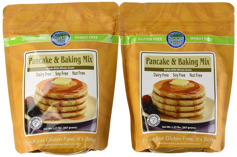 Authentic Alimentos Pancake & Baking Mix – 1.25 Lb cada, 2 ...