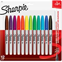 12-Count Sharpie 30075PP Fine Point Permanent Markers