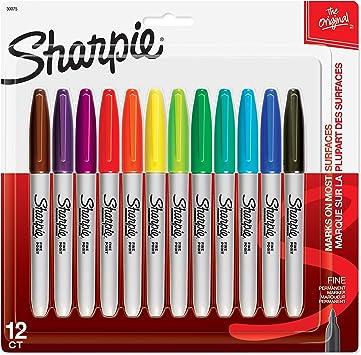 Sharpie - Rotuladores permanentes (colección Ultimate, finos y ultra finos): Amazon.es: Juguetes y juegos