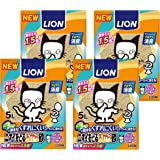 ニオイをとる砂 猫砂 ニオイをとるおから砂 5L×4袋 (ケース販売)
