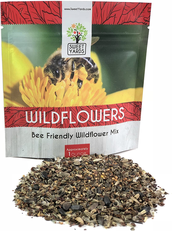 Suffolk Herbs Flower 2G Seeds Annual Bee Mixed Bee Mixed
