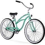 """Firmstrong Urban Lady Single Speed - Women's 26"""" Beach Cruiser Bike (Mint Green)"""
