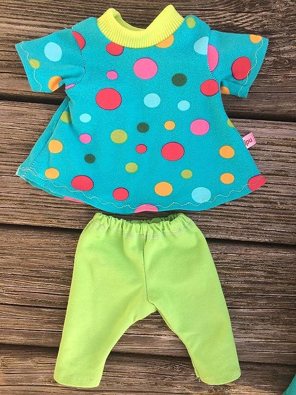 kipu Puppenkleidung für little Baby Puppen Gr 32 cm oder 42 cm Bubbles Kleidung