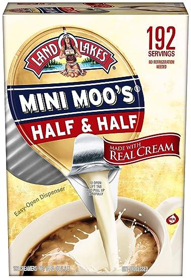 Land O Lakes Mini Moos Creamer Half and Half Cups 192 Count 54 fl oz (