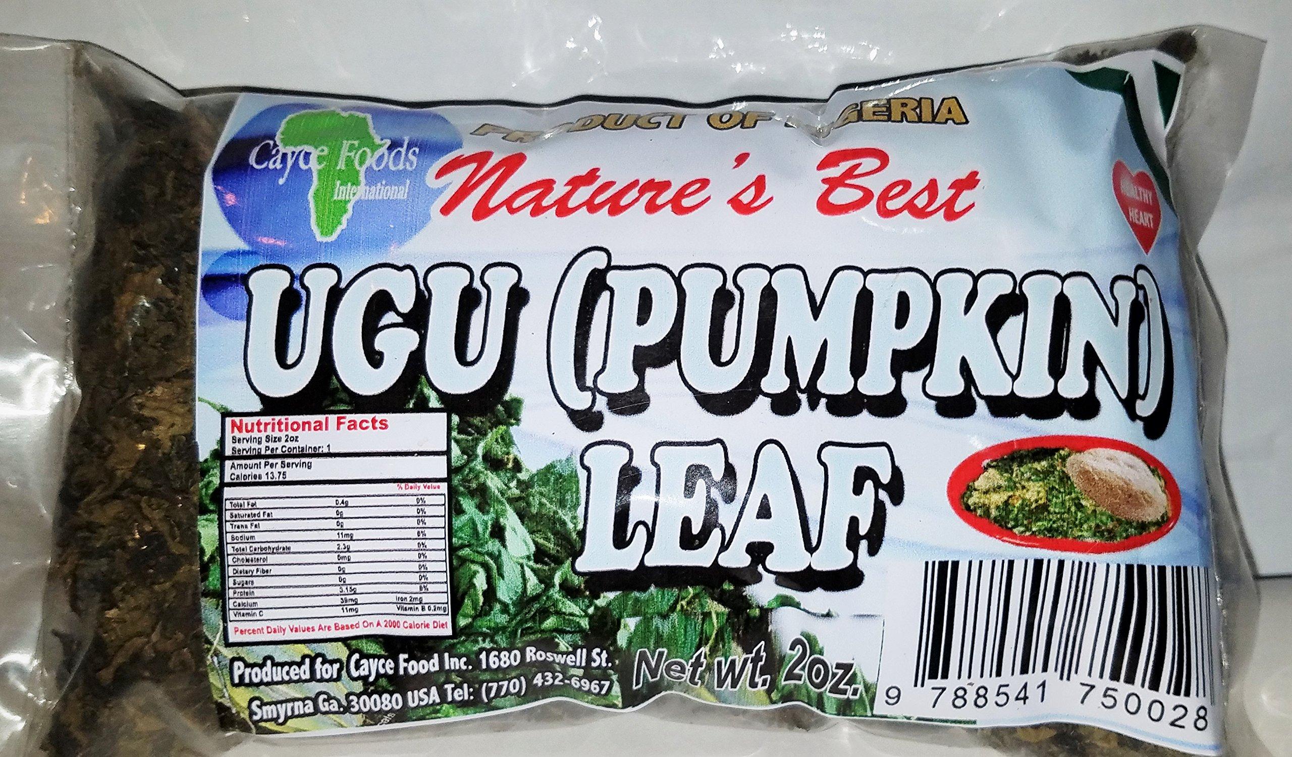 Ugu/Ugwu Leaves Dry 2 oz Bag