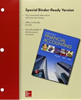 Fundamentals of financial accounting with connect access card fred loose leaf for fundamentals of financial accounting with connect fandeluxe Gallery