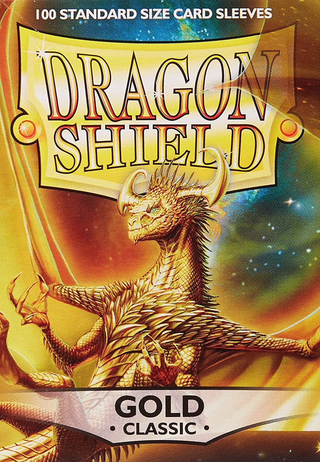100 Clear AT-10001 Dragon Shield Classic//GLOSS STANDARD Size Card Sleeves