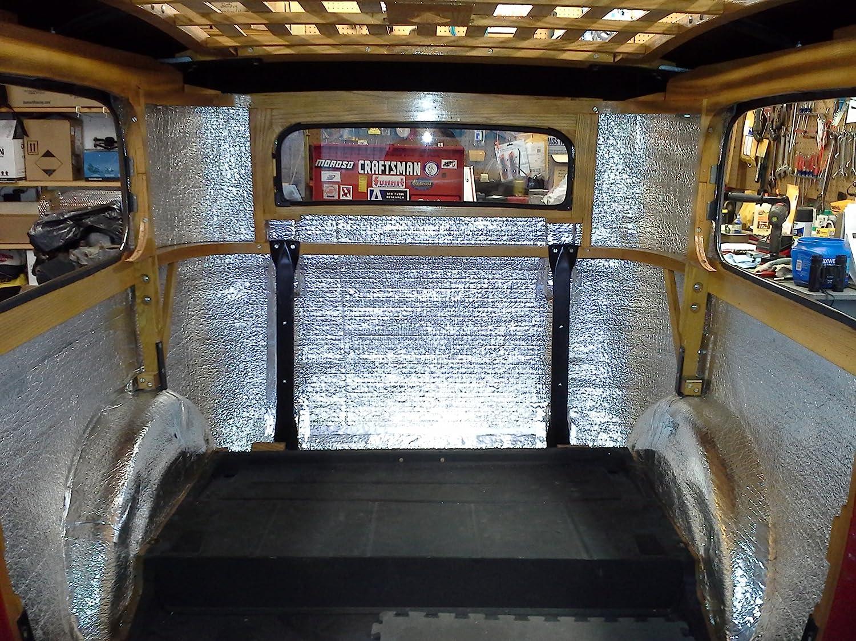 108 Sqft Sound Deadener /& Heat Barrier Mat Automotive Lightweight Thermal Insulation 4 x 27 Roll Car Insulation