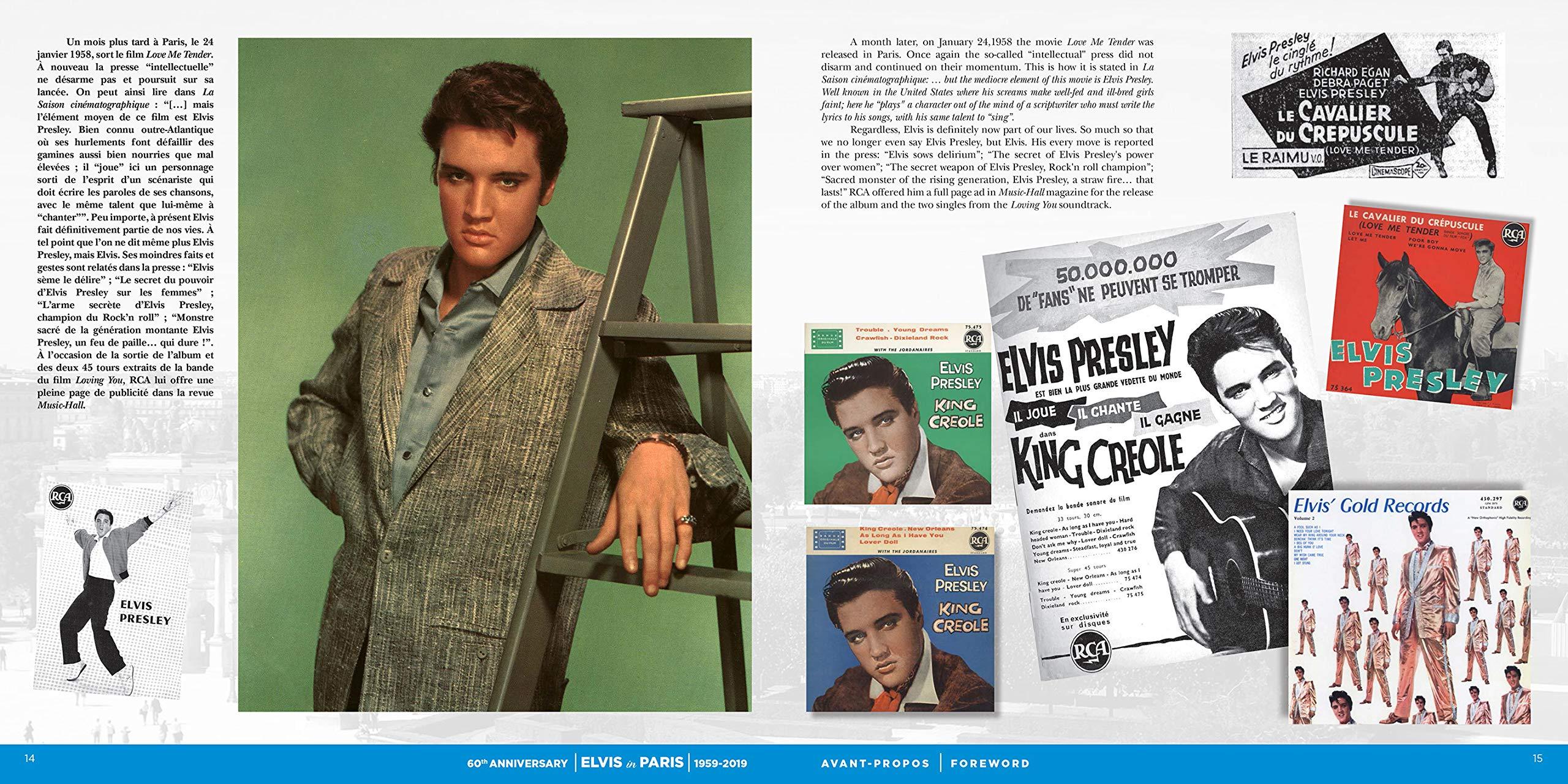 Elvis In Paris - 60th Anniversary: Amazon.es: Jean-Marie ...