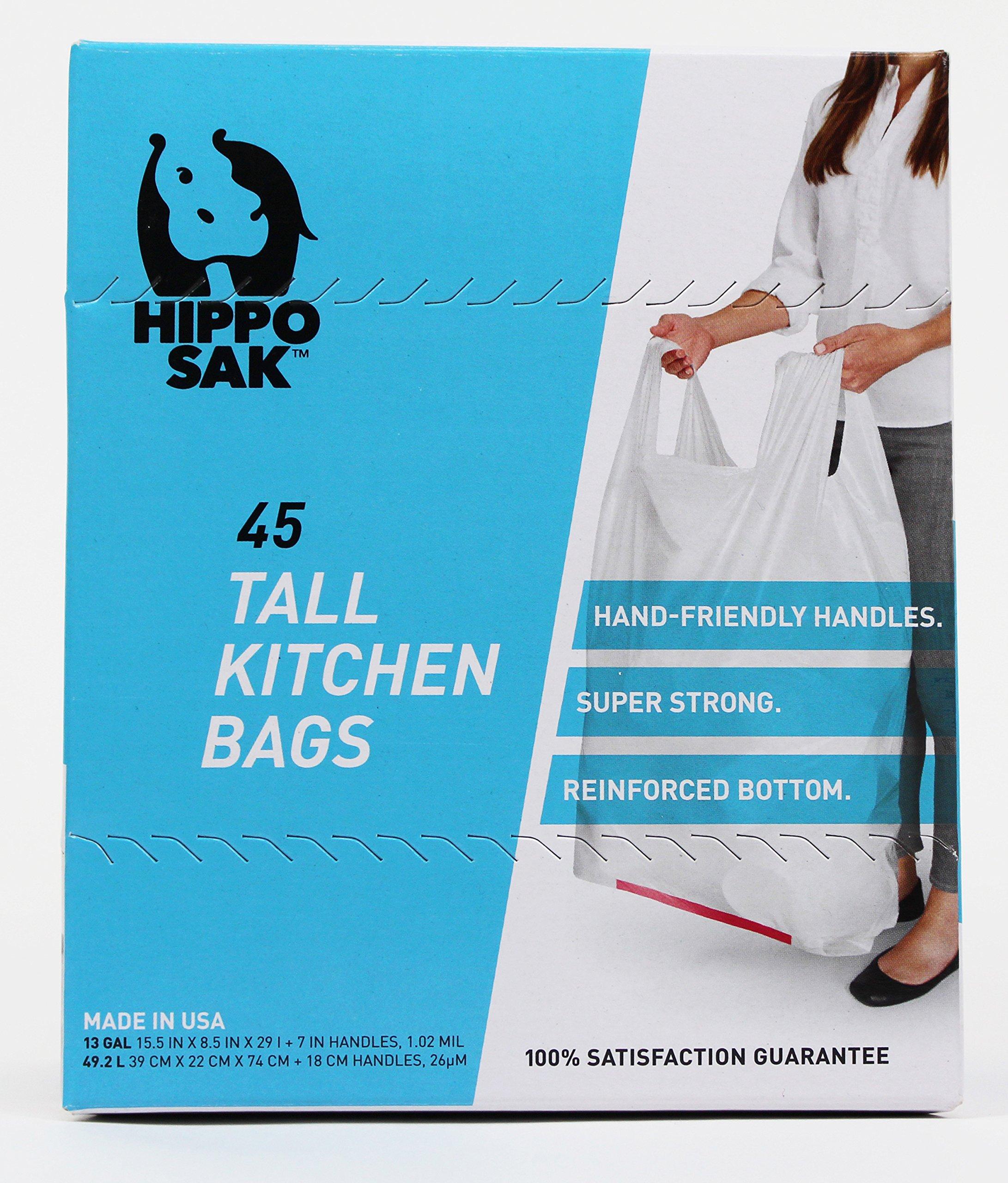 Hippo Sak 13 gallon tall kitchen trash by Hippo Sak (Image #2)