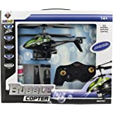 Remote Control Bubble Copter Helicopter GREEN