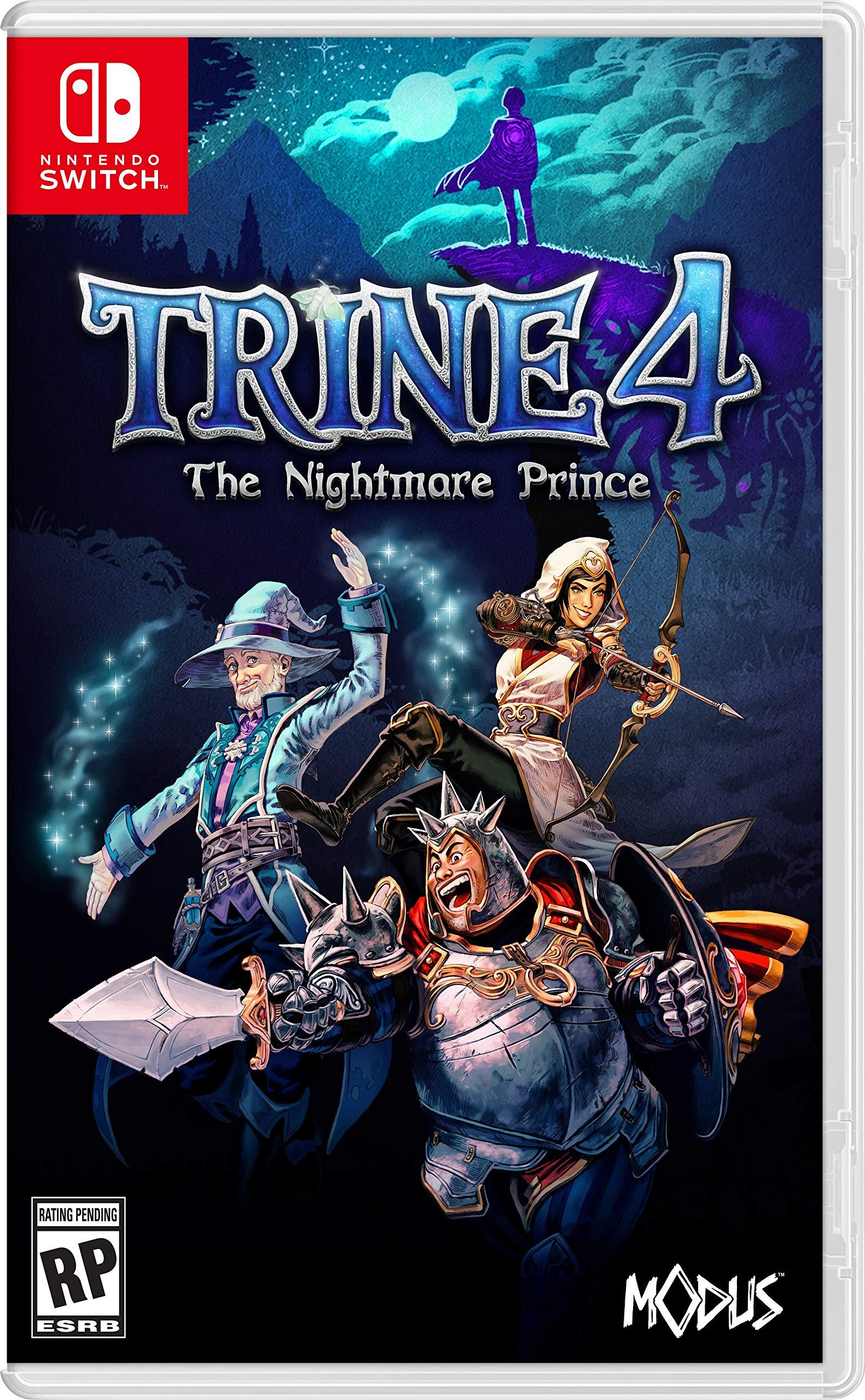 Trine 4: The Nightmare Prince (NSW) - Nintendo Switch