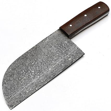 Amazon.com : Full Tang Custom Handmade Damascus Steel ...