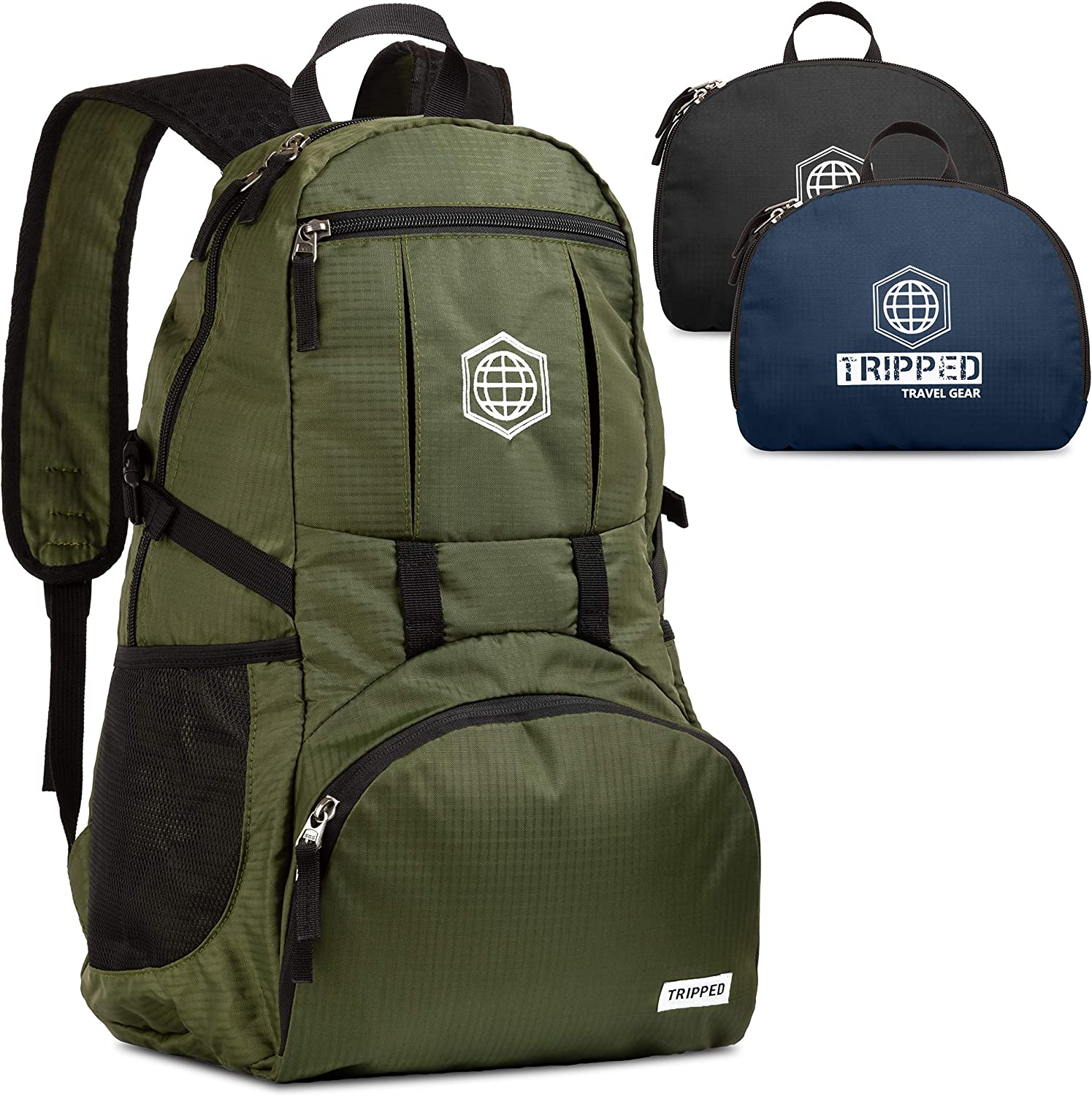 Traveling Backpack- Foldable Collapsible Lightweight Backpack for Travel