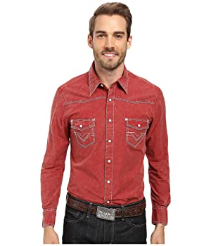 Rock and Roll Cowboy Mens Long Sleeve Snap B2S8428