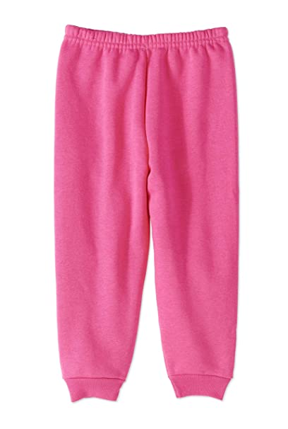 aad28f7619e Amazon.com  Garanimals Baby Toddler Girls  Solid Fleece Sweatpants ...