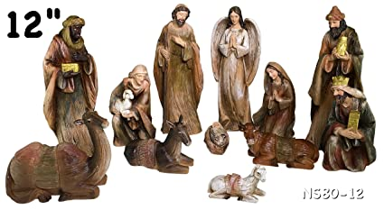702c6589c59 Amazon.com  Nativity Set 11pcs New 12