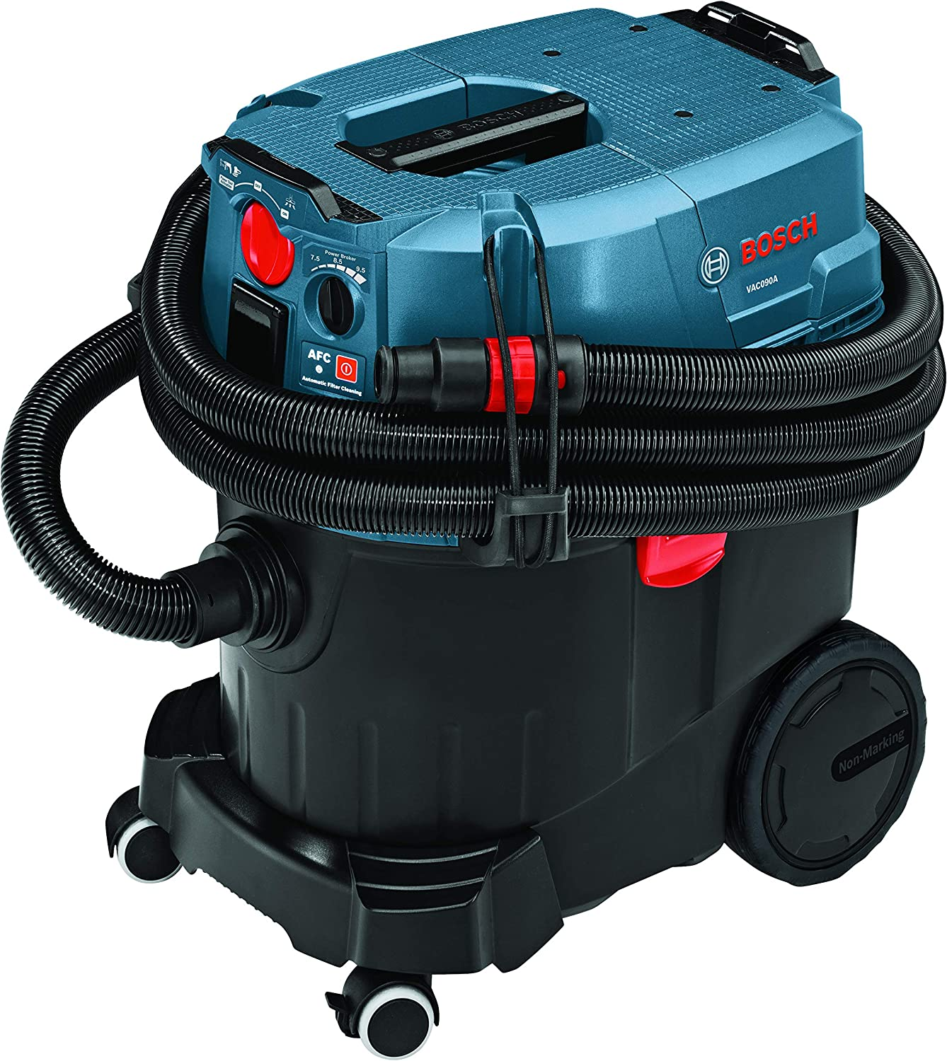 Bosch 9 Gallon Dust Extractor with Auto Filter Clean and...