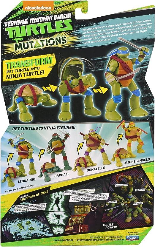 Amazon.com: Teenage Mutant Ninja Turtles mutaciones mascota ...