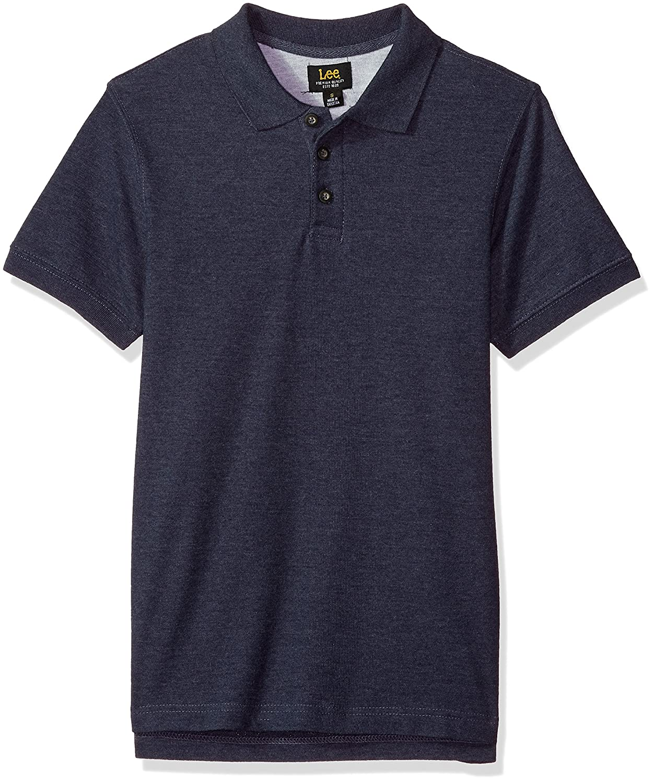 LEE Men's Short Sleeve Polo Tee Shirt LM00PL191X