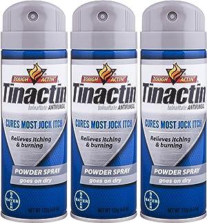 Tinactin Jock Itch Spray Powder,4.6 oz. (Pack of 3)