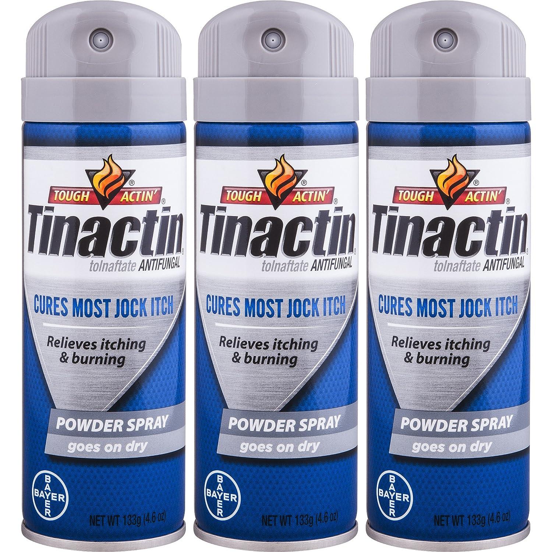 Tinactin Jock Itch Spray Powder,4.6 oz. (Pack of 3): Industrial & Scientific