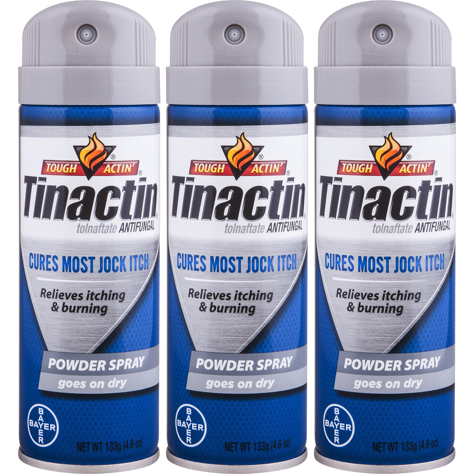 Tinactin Jock Itch Spray Powder,4.6 oz. (Pack of 3) by Tinactin