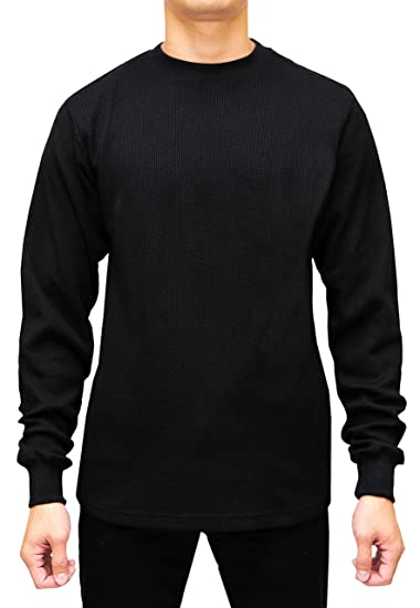 3f441fecc3ad8 Access Men s Heavyweight Long Sleeve Thermal Crew Neck Top at Amazon ...