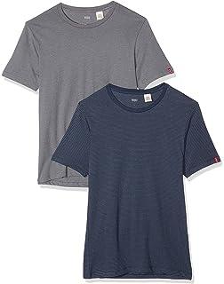 Levi s 2 Pack Crew - Camiseta para Hombre  Amazon.es  Ropa y accesorios bd9d0cc457a