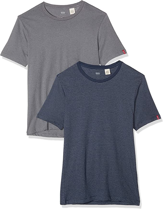 Levi's Slim 2 Pack Crew Tee - Camiseta para Hombre